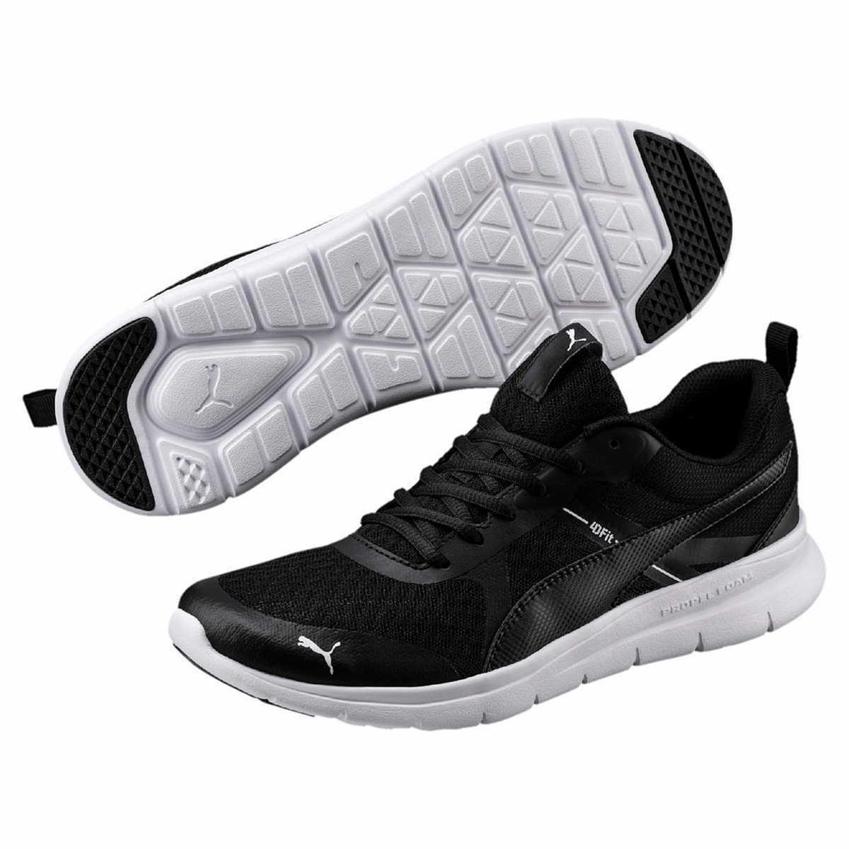 Puma schwarz Sneaker Flex Essential softfoam schwarz Puma Freizeit Turnschuhe 365268 d08a05