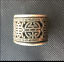 Old-Chinese-China-Miao-silver-longevity-Revolving-Men-039-s-Style-finger-Ring miniature 4