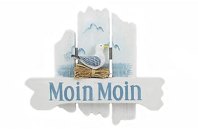 Schild Anker Seestern « DARß LIEBE » Türschild Geschenk Ostsee Fischland Zingst