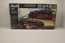 LOCOMOTIVE BR 43 TENDER 2'2 T30 & BR 43 TENDER 2'2 T32 REVELL 1/87 NEUVE BOITE