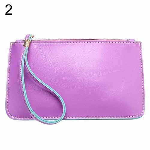 EG/_Frauen-dame Geldbörse Ausweis Handy Halter Münze Tasche Handtasche Clutch