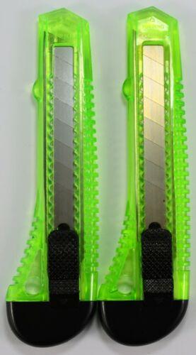 GRÜN Cuttermesser 18mm Teppichmesser 25 STÜCK