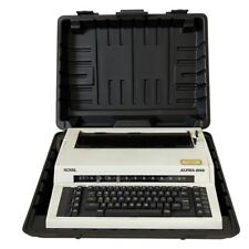 Royal Alpha 2015 Typewriter Royal Business Machines Connecticut With Case Tested