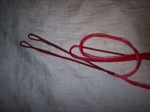 """Bowstring Le Rouge String-B-50 pour Amo 60/"""" Arc 56/"""" réel"""