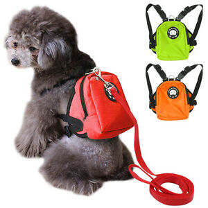Cute-School-Bag-Small-Dog-Backpack-Food-Snack-Dog-Harness-Bag-with-Leash