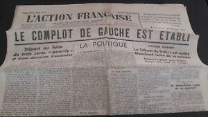 Diario-Nacionalista-ACCIoN-Francesa-18-Mars-1934-N-77-ABE
