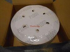 "Box of 50 Pieces Keen Abrasives 6/"" 1500 Grit Hook /& Loop Sanding Discs No Holes"
