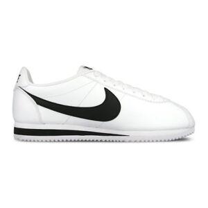 3be6fc27577 La imagen se está cargando Nike-Classic-Cortez-Leather-Zapatillas-Blanco