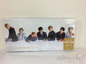 The-Best-Of-Bts-Bangtan-Boys-Edicion-First-Limitada-Nuevo-CD-DVD-Japon-F-S