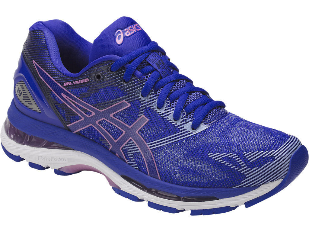 ASICS T750N.4832 GEL-NIMBUS 19 Wmn's Price reduction Blue/Violet Synthetic/ Running Shoes Seasonal price cuts, discount benefits