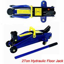 Car Floor Jack Hydraulic Low Profile 2 Ton Lift Auto Heavy Lifting Steel Garage