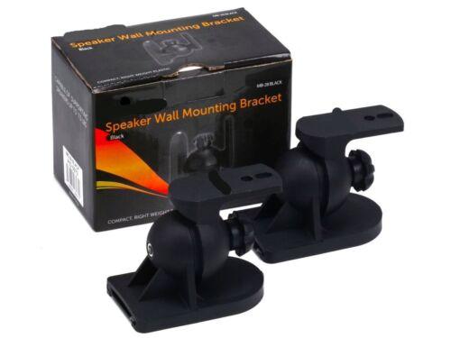 LOT// PAIR of 2 BRAND NEW Black Speaker mount bracket stand Home theater