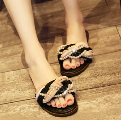 Womens Open Toe Slipper Fashion Shoes