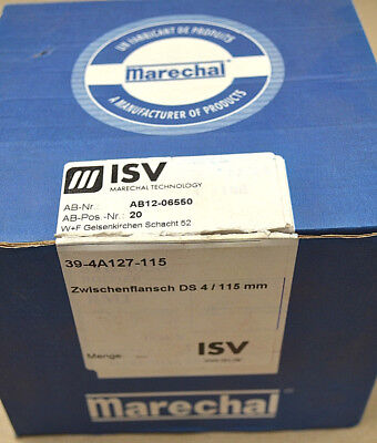 115mm /// 1 Stück /// Neu Attraktiv Und Langlebig Stecker, Schalter & Kabel Isv Marechal 39-4a127-115 Zwischenflansch Ds4