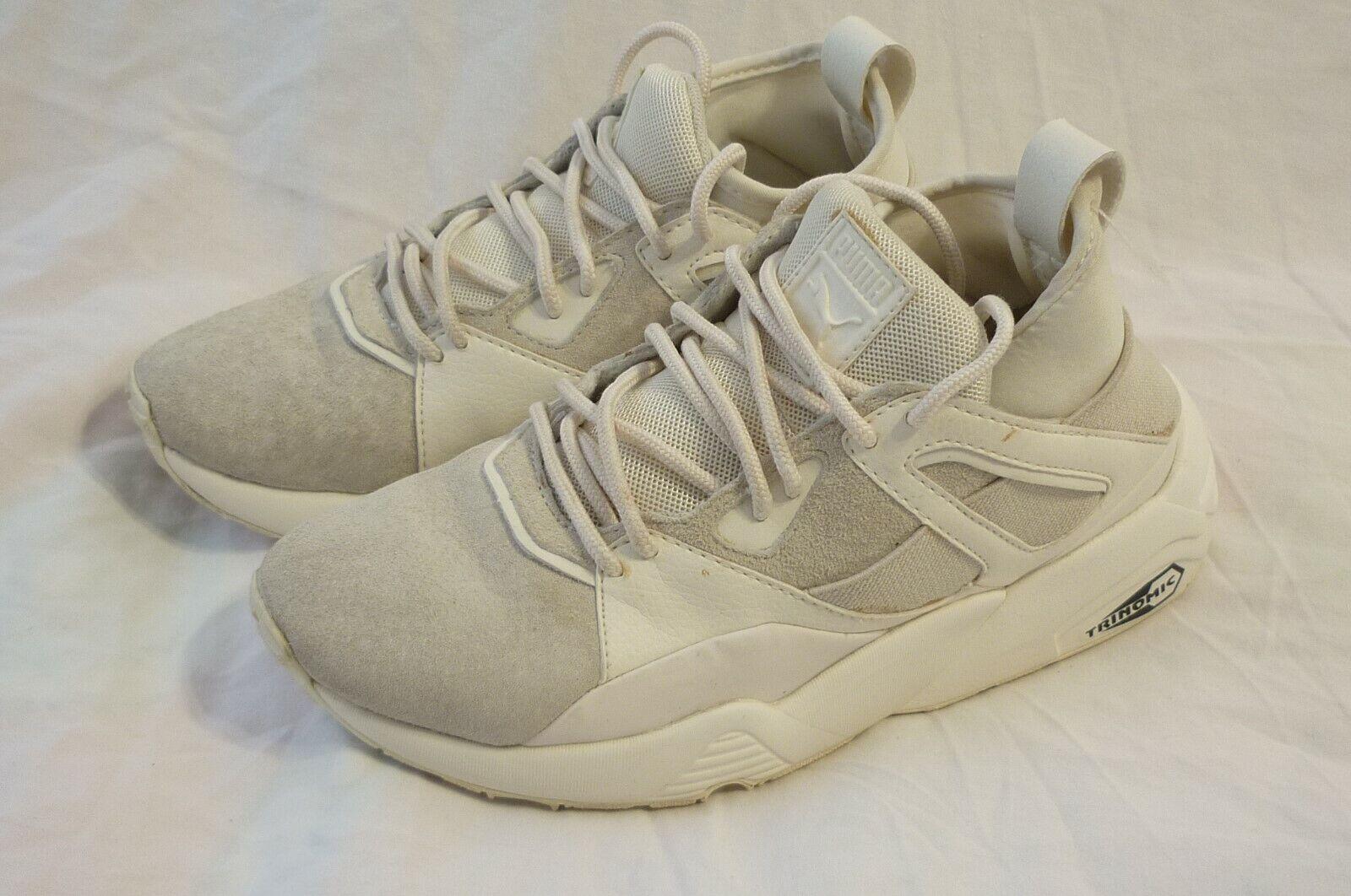 Puma Blaze of Glory Bog Chaussures femme taille 5.5 ou Hommes 4 blanc Excellent!