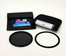 Heliopan 105 mm Slim sh-pmc cir-polarising Filtro + Lee 105 Mm Frontal titular ring.new
