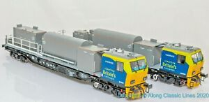 Bachmann-31-577-OO-Gauge-Windhoff-MPV-2-car-unit-in-Railtrack-livery