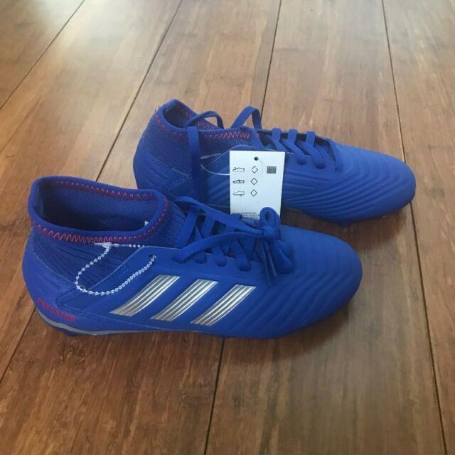 Soccer Shoes adidas Predator 19.3 FG J D98003 Black Football BOOTS Size 5.5