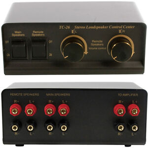 2-Way-Stereo-Speaker-Splitter-amp-Volume-Control-HI-FI-Loudspeaker-Audio-Switch
