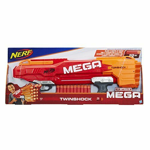 Nerf N Strike Mega Twin Shock 5010993397570