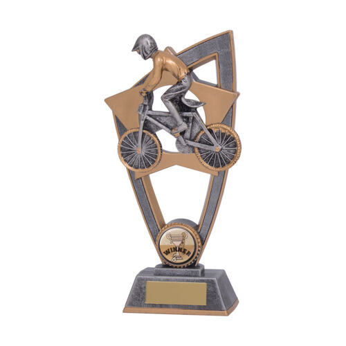 Star Blast BMX Trophies Bike Awards 3 sizes FREE Engraving