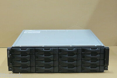 Bello Dell Equallogic Ps6010xv San Iscsi Virtualizzati Storage Array 16 X 600 Gb Sas 15k-