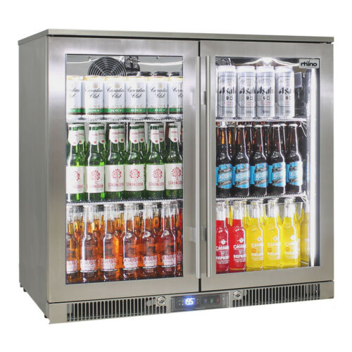 New Rhino Outdoor Rhino ENVY Bar Fridge Quiet With No Condensation Coldest Beer