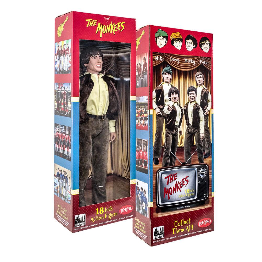 La serie The Monkees 18 in (approx. 45.72 cm) Figuras De Acción  Davy Jones