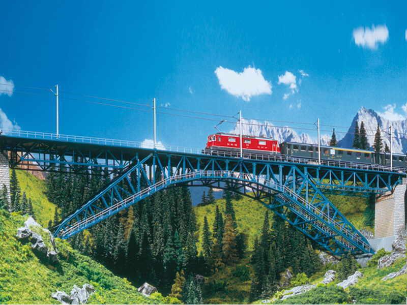 Faller h0 120535 bietschtal-puente nuevo en el embalaje original