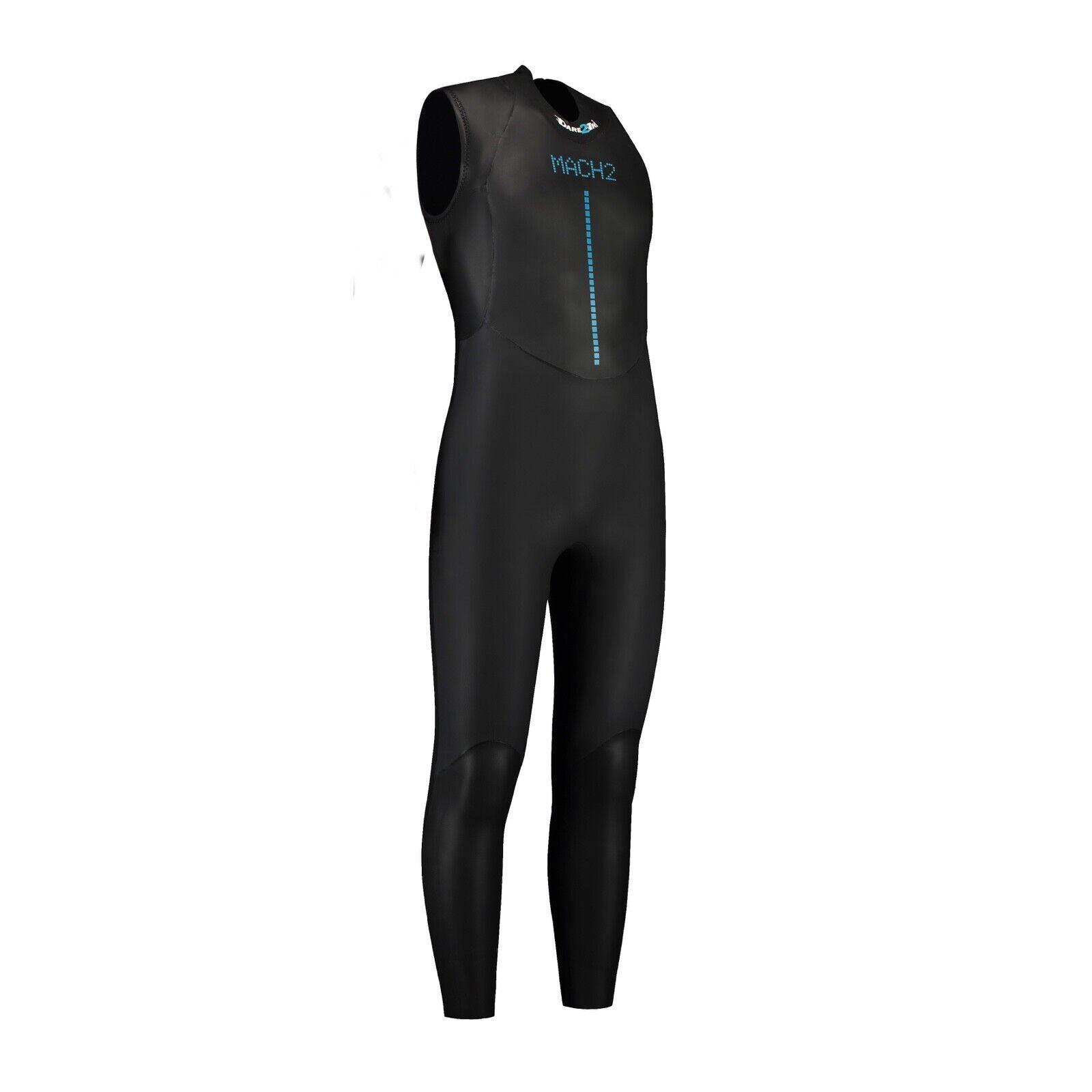 Dare 2Tri Long John Sin Mangas Para Hombre Tri natación traje-ex-Alquiler-tamaño S