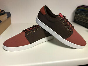 WESC-Off-Deck-Sneaker-henna-braun-NEUWARE-NEW-portofrei-SALE-Gr-41-46