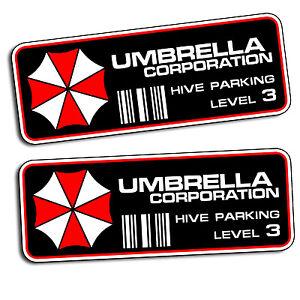Umbrella Corporation Hive Parking Level 3 Resident Evil