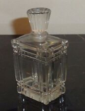 """VINTAGE BACCARAT LE VERTIGE BY COTY NUMBERED 383 PERFUME BOTTLE 3.5"""" TALL"""