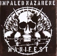 CD MANIFEST IMPALED NAZARENE Heavy Metal Hard rock metal Music