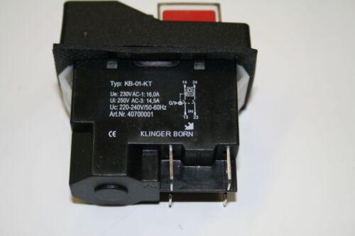kb-01-kt Installation de périphériques Interrupteur Interrupteur 01 sous tension déclencheur