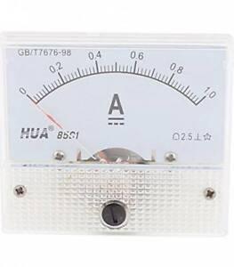 Amperometro-Analogico-85C1-Scala-1A