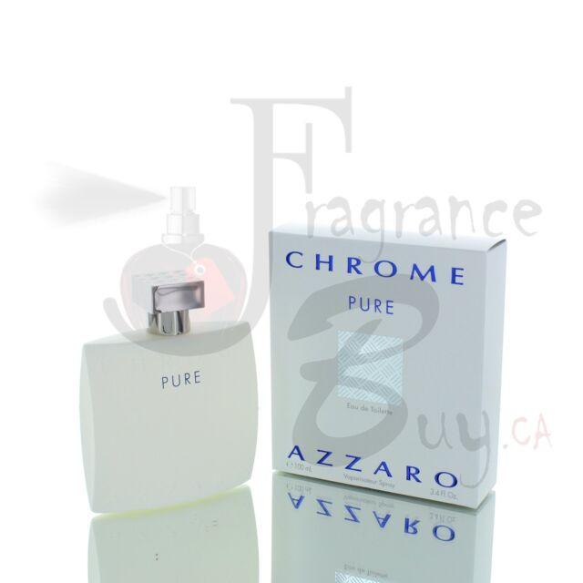 Azzaro Chrome PURE M 100ml Boxed