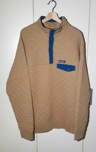 Patagonia Quilted Synchilla Snap T Pullover Sweater Mens