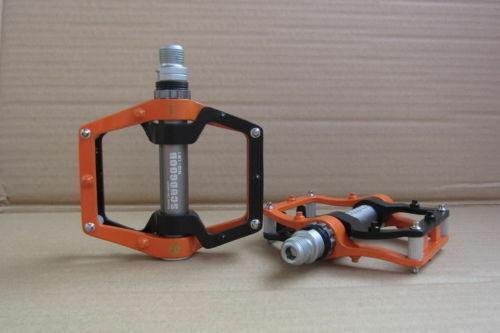 1 Pair BMX MTB Road Bike Bicycle Pedals 3 Sealed Bearings Flat//Platform 9//16/'/'