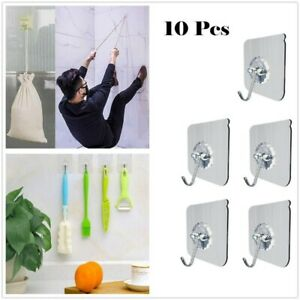 10x-Super-Strong-Self-Adhesive-Wall-Hooks-Waterproof-Hanger-Bathroom-Kitchen