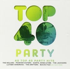 TOP 40-PARTY 2 CD NEU EUROPE/MEAT LOAF/FAITHLESS/RICK ASTLEY/THE DRIFTERS/+