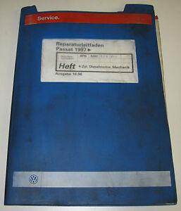 Werkstatthandbuch-VW-Passat-B5-Typ-3B-4-Zylinder-Diesel-Motor-Mechanik-ab-1997