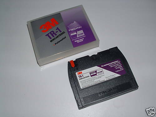 NEW 3M IMATION TR1 TR-1 400//800MB Travan Tape Cartridge