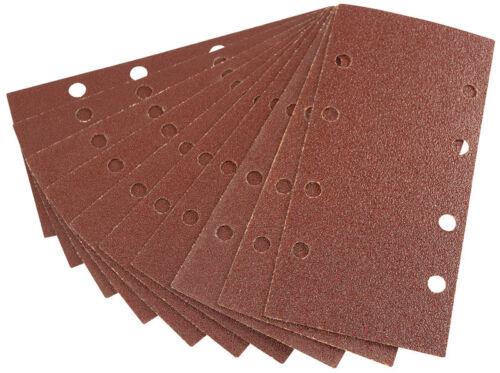 DRAPER Ten 90 x 187mm Assorted Grit Aluminium Oxide Sanding Sheets42621