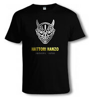 KILL BILL Hattori Hanzo Swords Japan COOL MOVIE T SHIRT - Sizes to 4XL