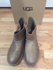 7313de1ec95 UGG Australia Classic Mini Unlined Metallic Gold Leather BOOTS US 8 ...