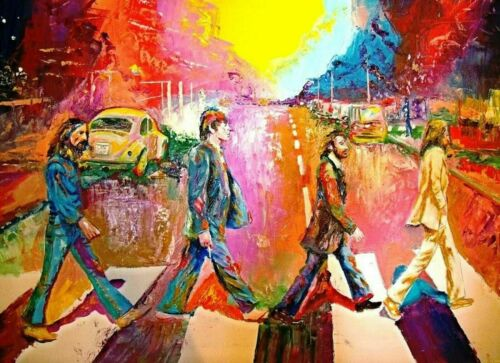 The Beatles Abbey Road Painting Abstract Art Artwork Paint By Numbers Kit DIY