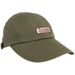 Simms fly fishing double haul long bill visor hat cap for Long bill fishing hat
