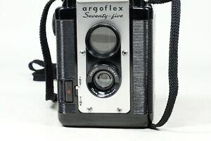 Argus Argoflex Seventy Five Camera THROUGH the VIewfinder
