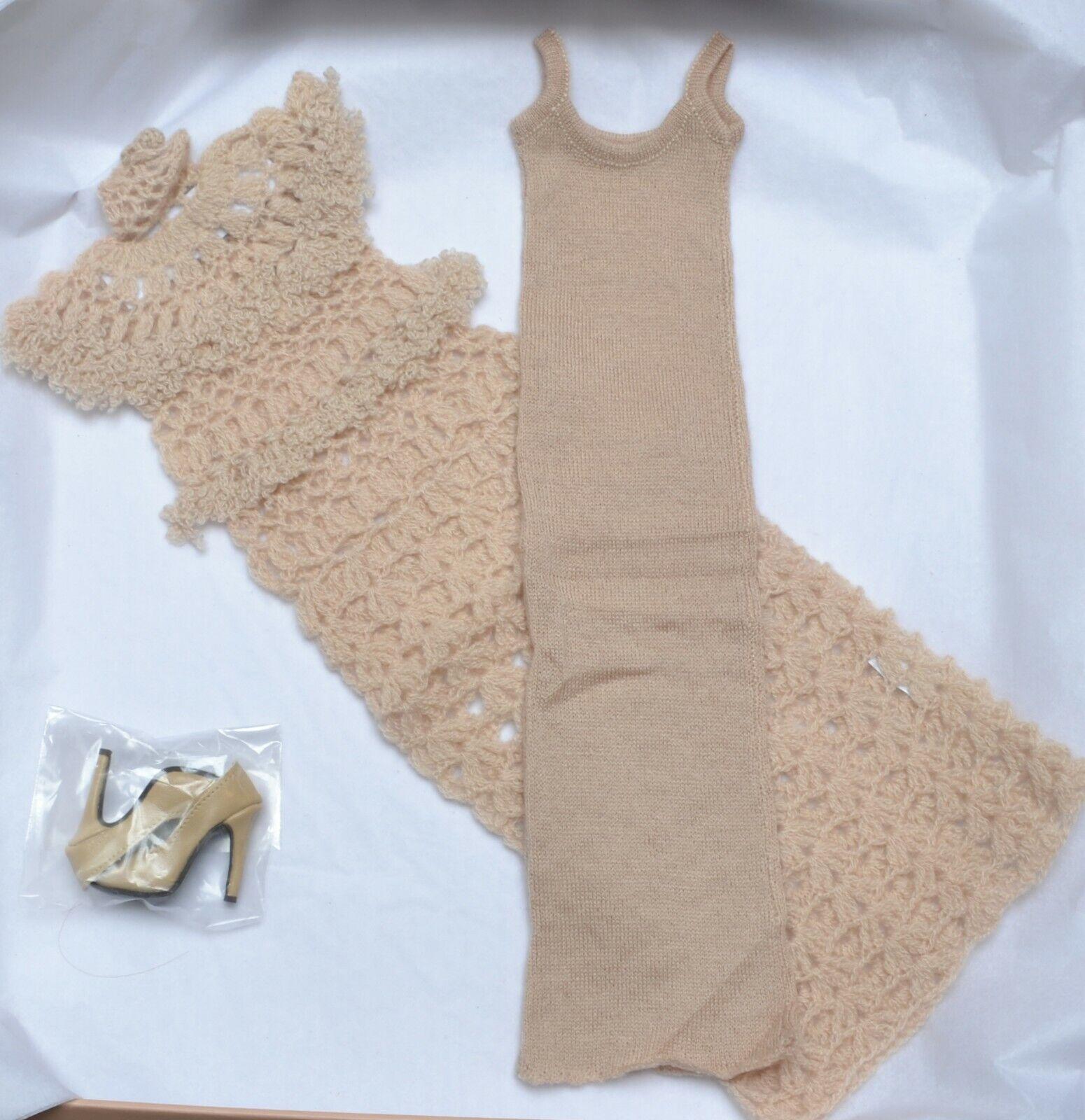 Ryan Roche 16  LOOK   2 Crocheted Kleid Tonner NRFB NEW Phyn & Aero